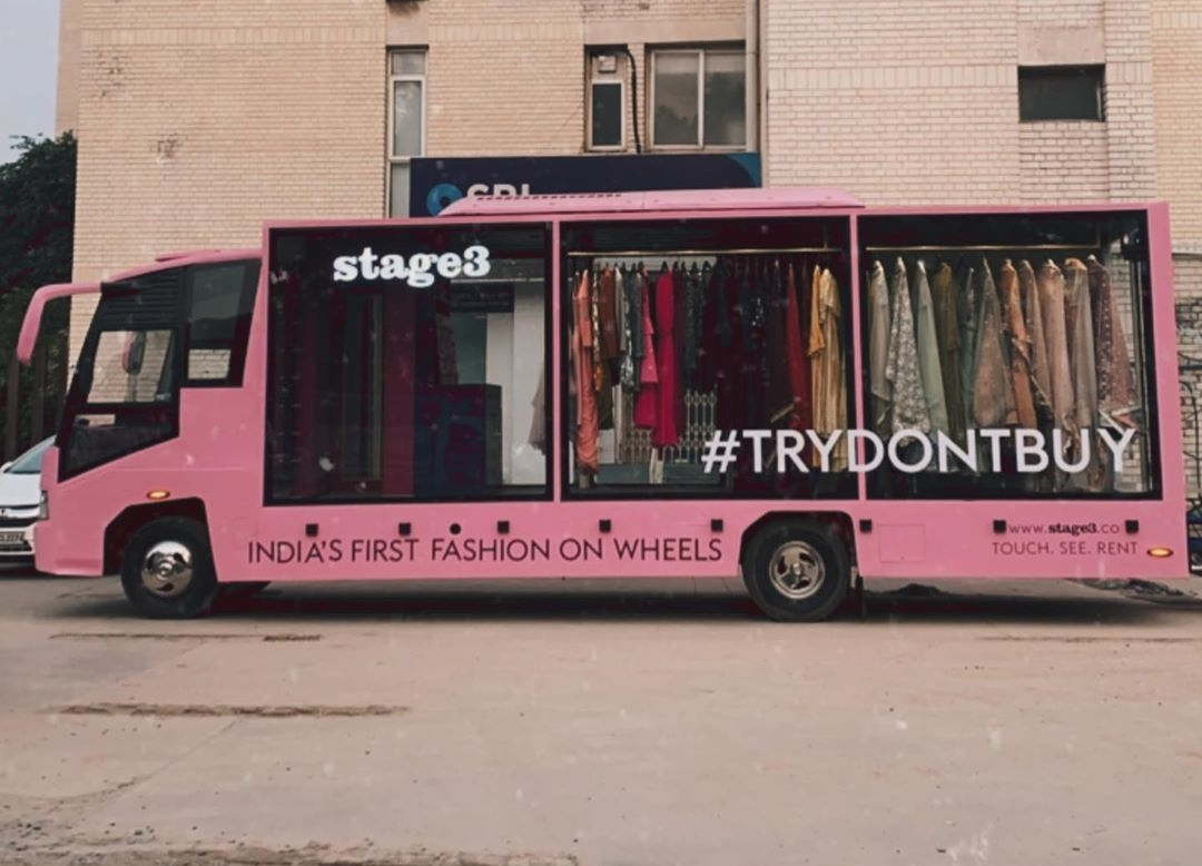 Delhi Gets Mobile Walk-In Closet; Hop-In To 'Touch, See And Rent' Latest Fashion Trends