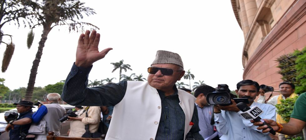 Not allowed to leave his house, Farooq Abdullah reportedly told a news channel.