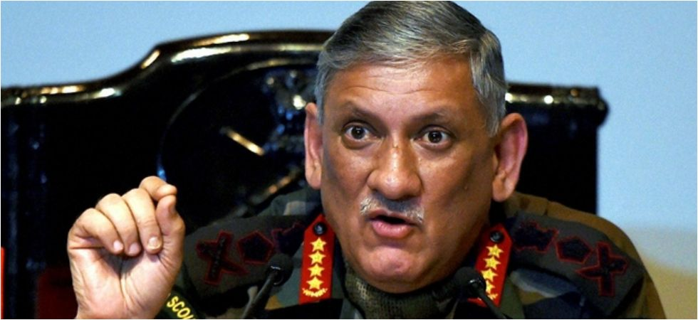 """Indian Army chief Bipin Rawat also added that, """"Our intelligence agencies had given ample proof of what had happened in Pulwama and that is all I would like to say."""""""