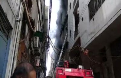 Three dead after fire breaks out at rubber factory in Delhi's Jhilmil area