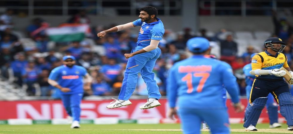 Jasprit Bumrah became the second-fastest Indian to 100 ODI wickets as India started off well against Sri Lanka in the ICC Cricket World Cup 2019 clash in Leeds. (Image credit: Getty Images)