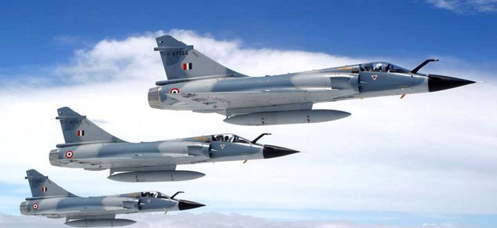 All IAF officers are Mirage 2000 fighter aircraft pilots. (File Photo)
