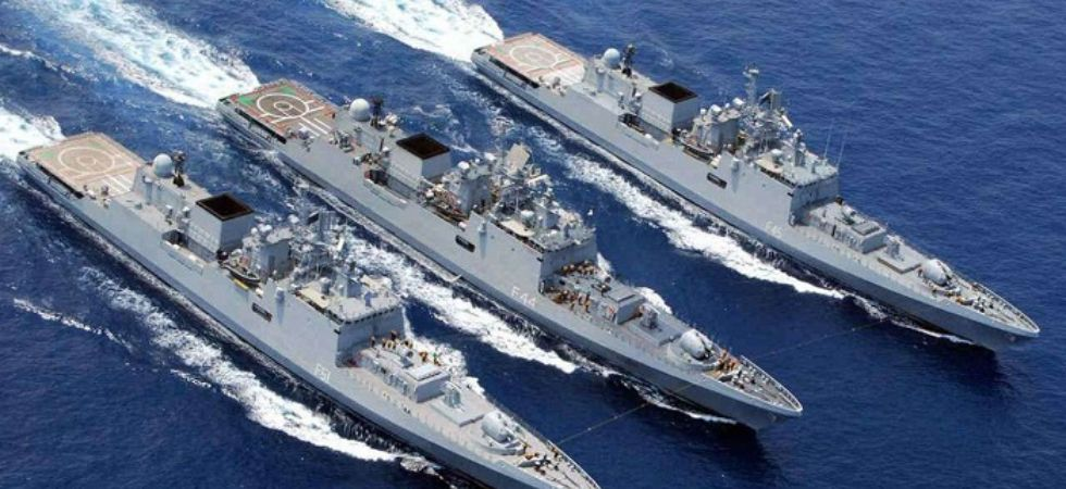 Indian Navy on high alert (Photo Credit: Twitter)