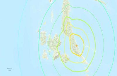 Massive 7.3-magnitude earthquake strikes Maluku islands in Indonesia