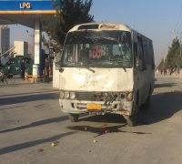Afghan TV bus bombed in Kabul, two people killed