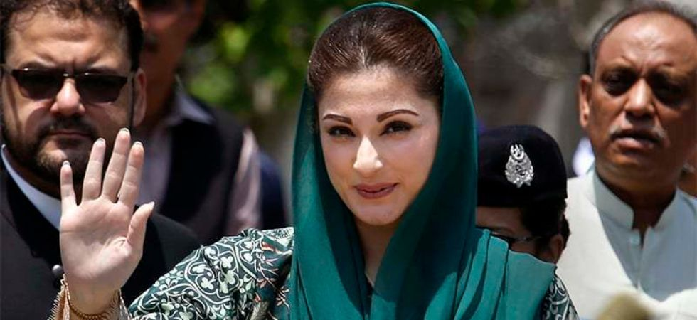 aryam was taken into custody prior to meeting her father former prime minister Nawaz Sharif at the Kot Lakhpat Jail