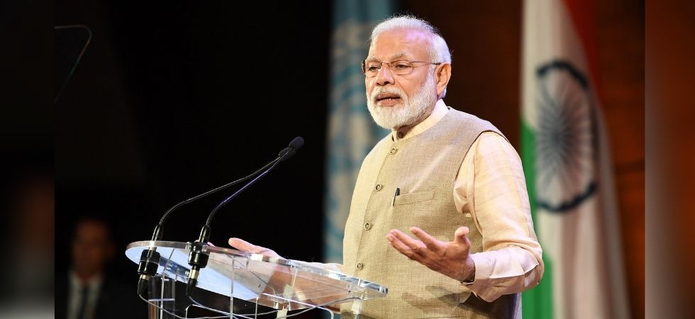 Prime Minister Modi said India will be free of tuberculosis in 2025. (PIB India/Twitter)