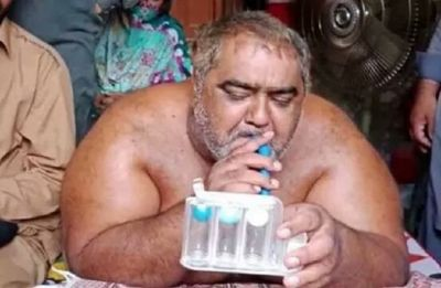 Pakistan's heaviest man Noorul Hassan dies after left unattended in ICU due to commotion
