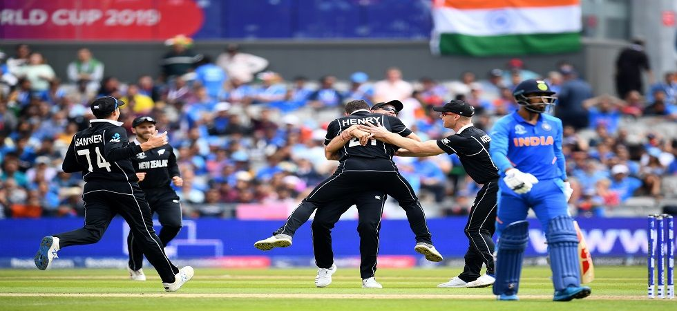 Matt Henry picked up 3/37 as New Zealand registered a tense 18-run win against India to knock Virat Kohli's side out of the ICC Cricket World Cup 2019 in Manchester. (Image credit: Getty Images)