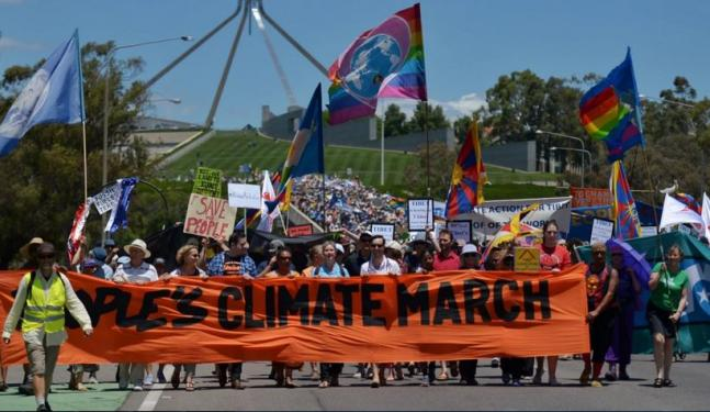 Global Climate march in pictures