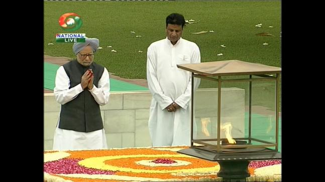 PM Manmohan Singh addresses nation on 67th Independence Day