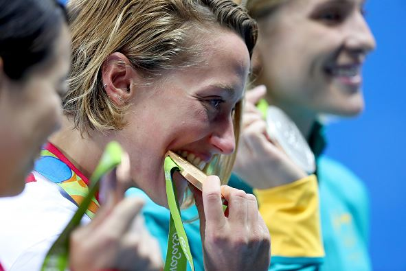 Rio Olympics 2016: Why do Olympic winners bite their medals?