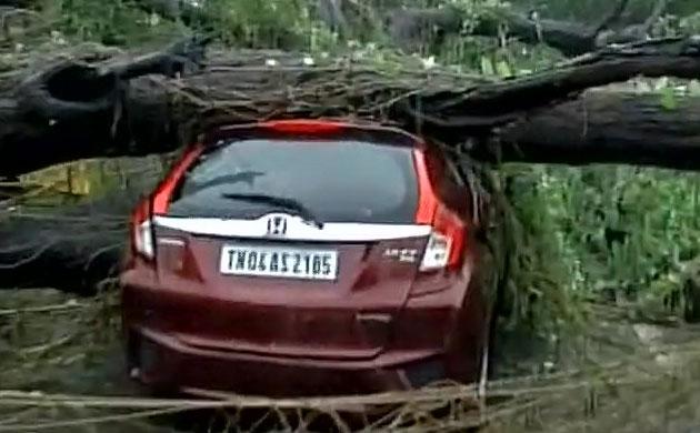 Cyclone Vardah wreaks havoc in Tamil Nadu: Watch in pictures