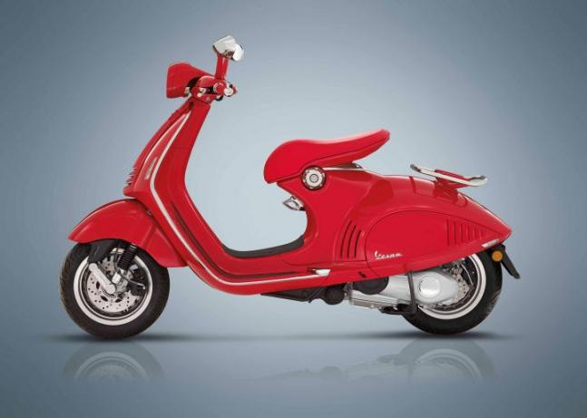 Vespa Red launched India at price of Rs 87009