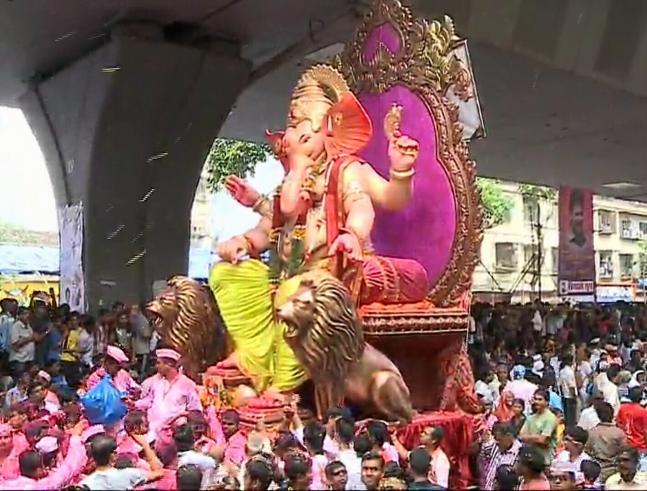Ganesha Visarjan