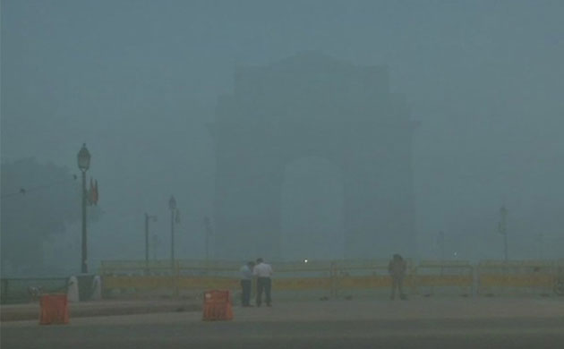 Northern India engulfed by heavy fog Visibility low trains running late from Delhi