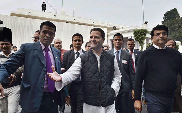 Rahul Gandhi files nomination for Congress President post set to be elected unopposed