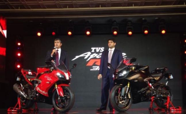 TVS Apache RR 310 launched in India check features