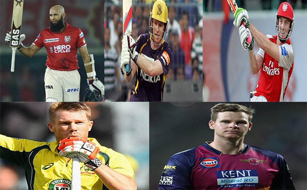 IPL 2018 Five players who can replace David Warner Steve Smith