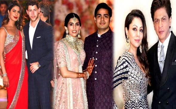 Akash Ambani Shloka Mehta's star studded pre engagement party pics
