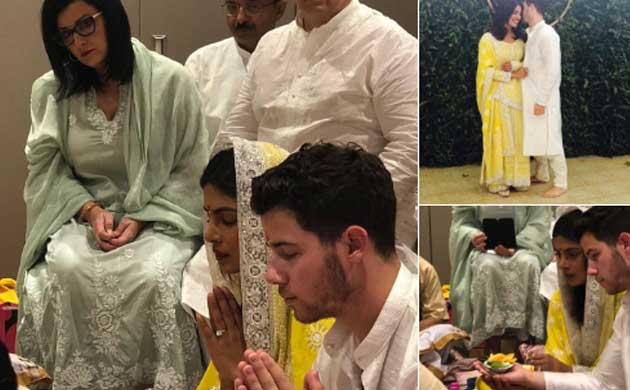Priyanka Chopra-Nick Jonas engagement, roka ceremony photos