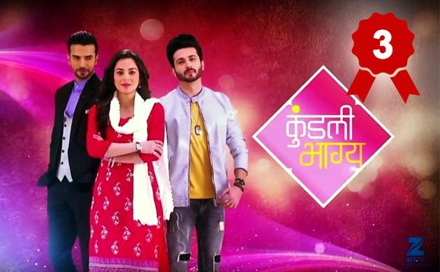 BARC TRP ratings week 39 2018 Naagin 3 tops the charts again yeh rishta kya kehlata hai kundli bhagya Kullfi Kumarr Bajewala Kumkum Bhagya