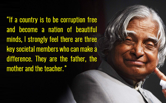 Apj Abdul Kalam 87th Birth Anniversary 5 Inspiring Quotes By The