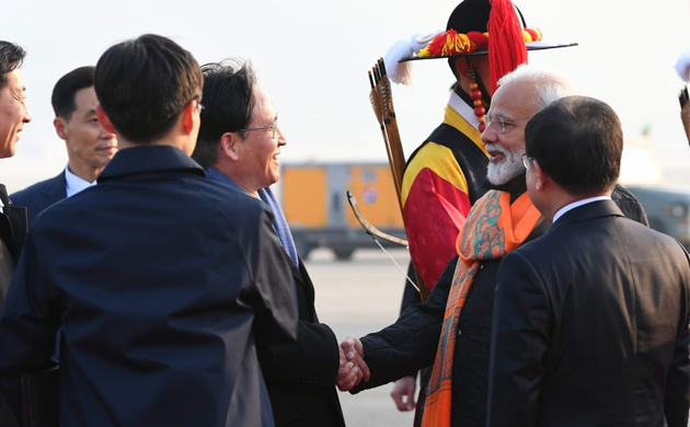 In Pics: PM Modi arrives in South Korea on two-day visit to bolster strategic ties