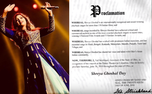 Happy Birthday Shreya Ghosal: Lesser know accomplishments of the singer