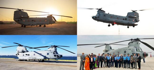 Capable of transporting howitzers, Indian Air Force inducts Chinooks in 126 Helicopter flight squadron at Chandigarh airfield