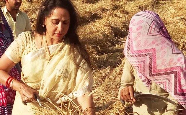 Hema Malini's picture-perfect launch of Lok Sabha Election campaign goes viral