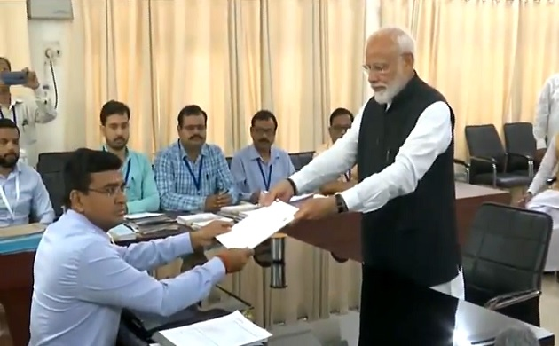 In Pictures: With allies in show of strength, PM Modi files nomination from Varanasi