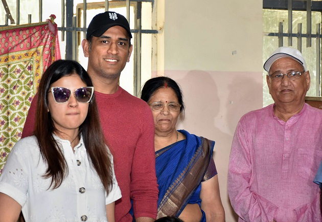 From MS Dhoni to Mayawati - public figures step out to cast vote in Phase 5 of Lok Sabha elections