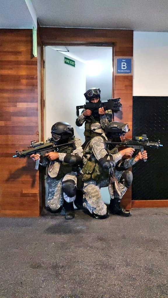 In Pictures: Indian Navy conducts hostage rescue mock drill in Visakhapatnam