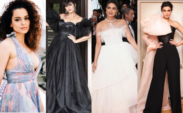 Cannes 2019: Priyanka, Kangana, Huma, Diana glitters in sizzling designer ensemble yet again at gala event