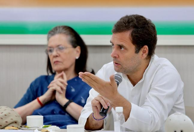In Pics: After poll disaster, Congress brass meet to hammer out new revival plan