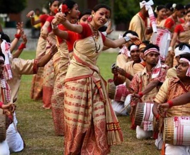 Bihu celebrations in Assam