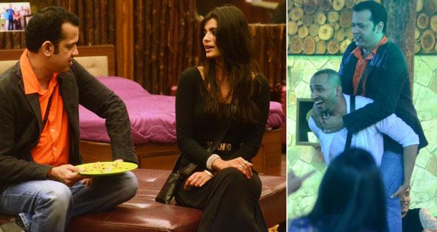 Dimpy, Rahul Mahajan face off in Bigg Boss 8