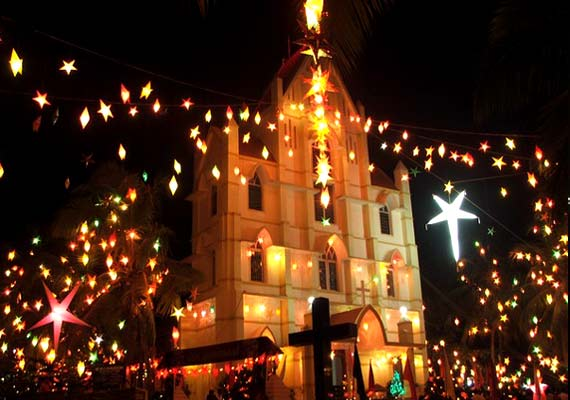 six best places to celebrate christmas in india - Do They Celebrate Christmas In India