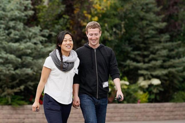 Mark Zuckerberg's family in pics
