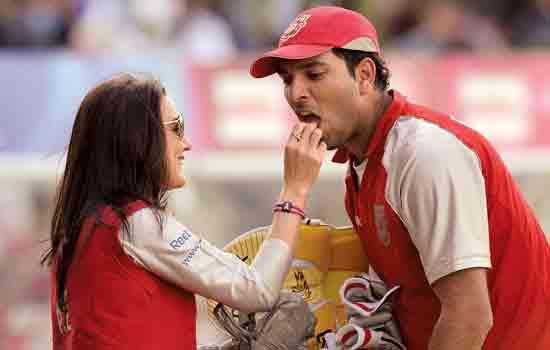 Yuvraj Singh's love life!