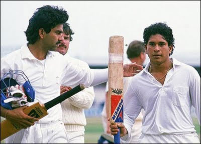 Sachin Ramesh Tendulkar over the years