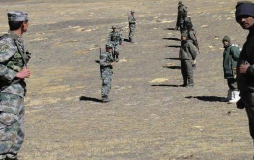 पैंगोंग लेक के पास भारतीय और चीनी सेना के जवानों में हुई धक्का-मुक्की