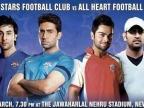 Bollywood vs Cricketers football match!