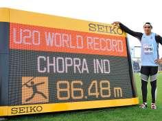 Neeraj Chopra: Indian teen athlete with a world record