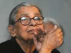 Eminent writer and social activist Mahasweta Devi passes away in Kolkata