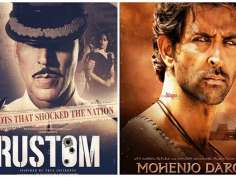 Mohenjo Daro vs Rustom opening day Box office collections