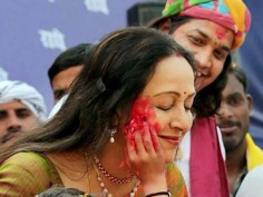 In Pictures Indian politicians celebrating festival of colors