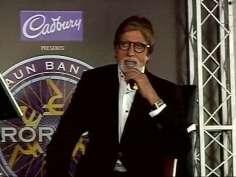 Big B unveils KBC 'Hot Seat Aapke Shehar'