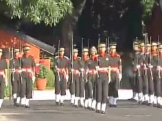 Uttarakhand: Army Chief General Bipin Rawat attends the passing out parade at Indian Military Academy in Dehradun